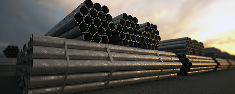 Steel Pipe Manufacturing Stack