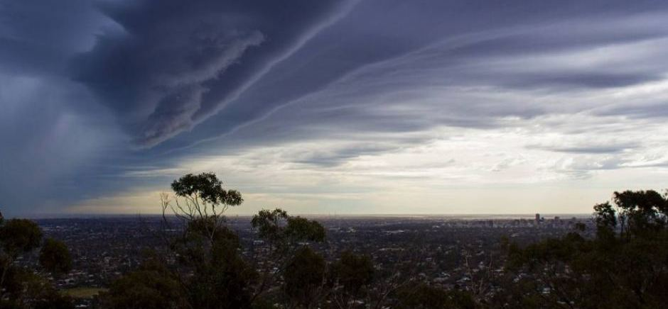 Storm Wild Weather over Adelaide